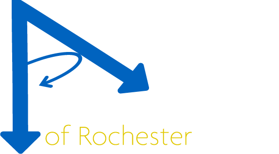 Aerial Photography of Rochester Logo